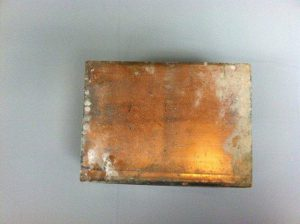 1 A ITEM COPPER BOX